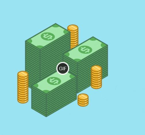 Гифки деньги