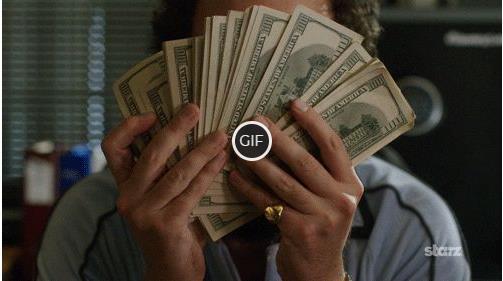 Гифки анимация деньги