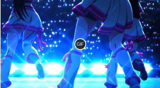 Гифки танец аниме