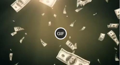Гифки деньги сыпятся