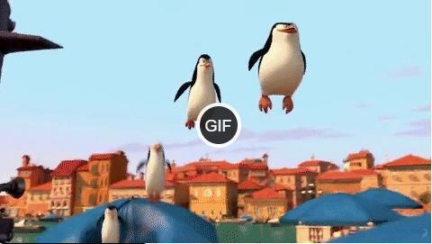 Гифки из мультфильма Мадагаскар