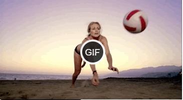 Гифки пляжный волейбол