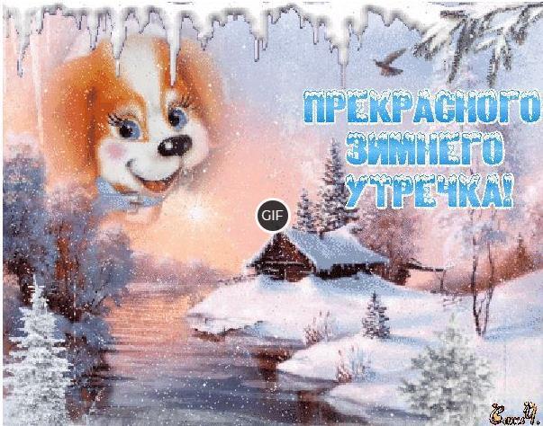 С добрым зимним утром и хорошего дня