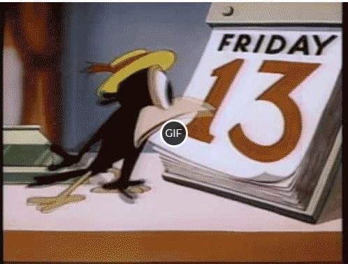 Гифки пятница 13 прикольные