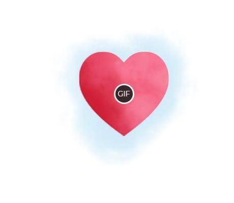 Гифки бьющееся сердце