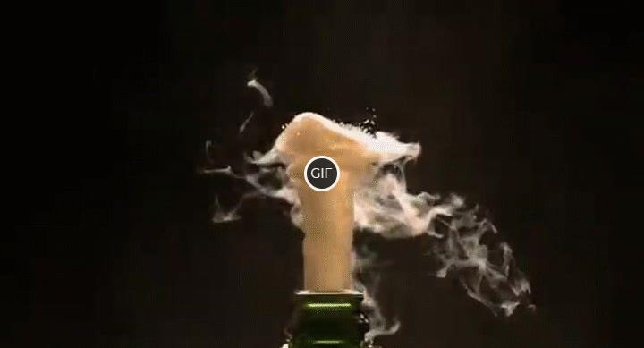 Гифки шампанское