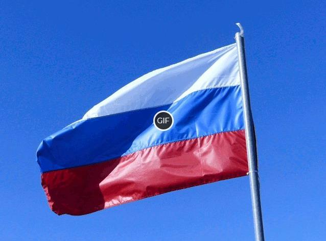 Анимация флаг России