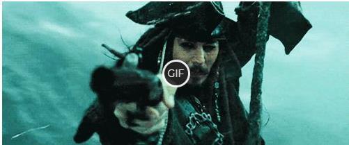 Гифки из фильма Пираты Карибского Моря