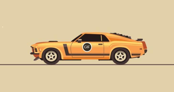 Гифки машины