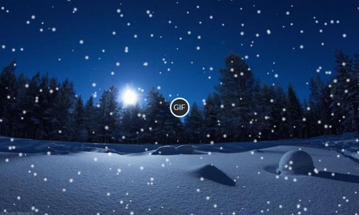 Зимние фото картинки гиф