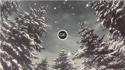 Гифы Зима