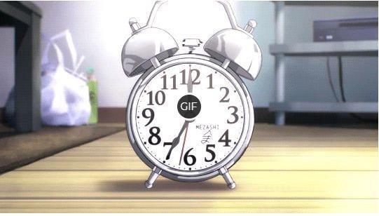 Гифки с будильником