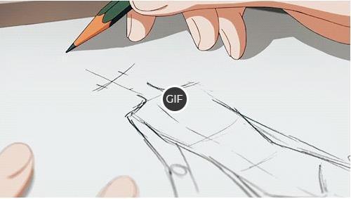 Гифки карандашные рисунки
