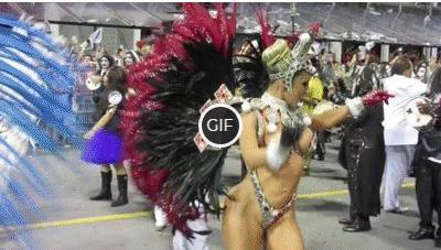 Гифки с Бразильского карнавала