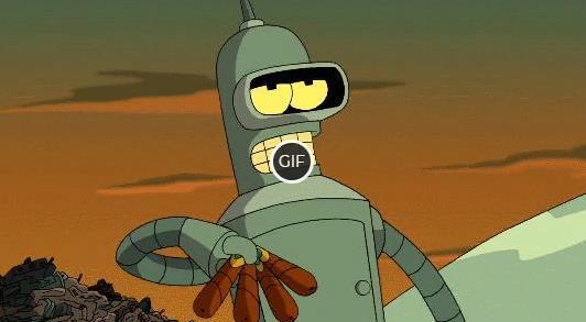 Гифки из мультфильма Футурама
