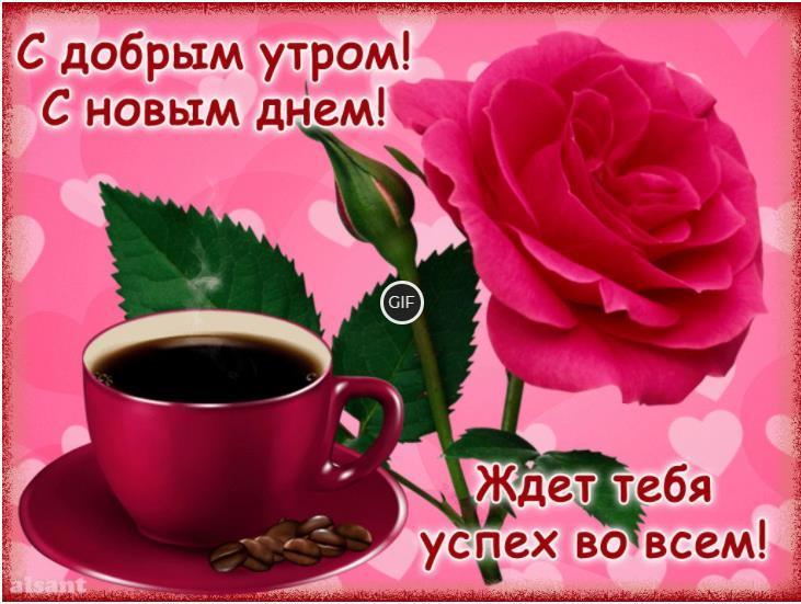 Доброе утро хорошего дня красивые картинки