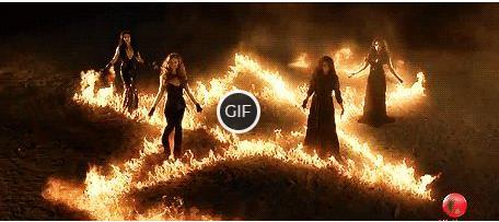 Гифки с ведьмами