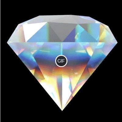 Гифка бриллиант на прозрачном фоне