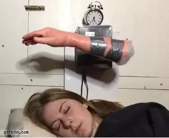 Гифка будильник прикольный
