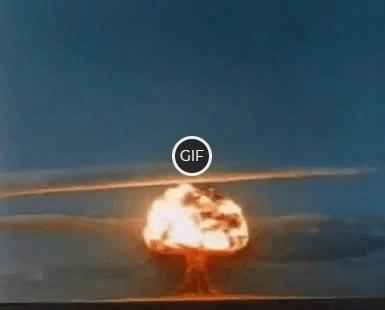 Гифка Ядерный Взрыв