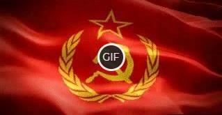 Гифка флаг СССР