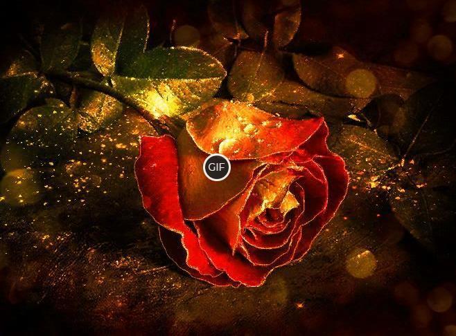 Бесплатные мерцающие открытки эти розы для тебя