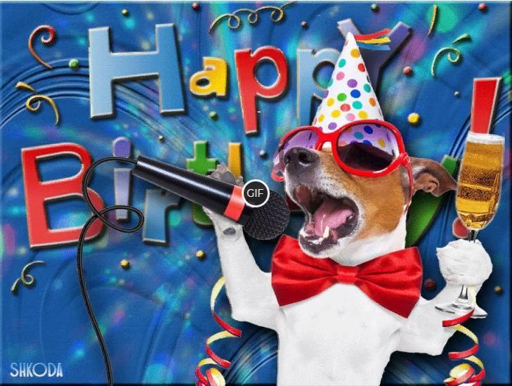 Смешные картинки с днем рождения