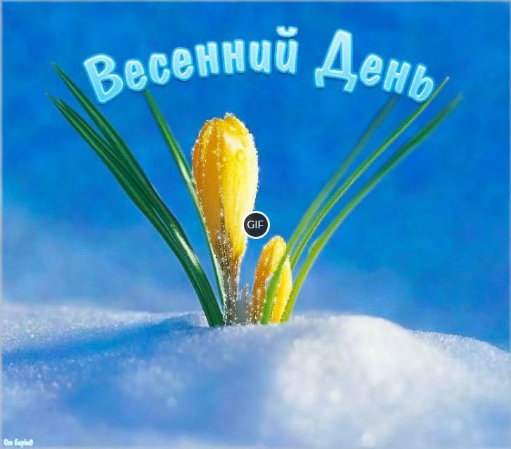 Гифка Весенний день