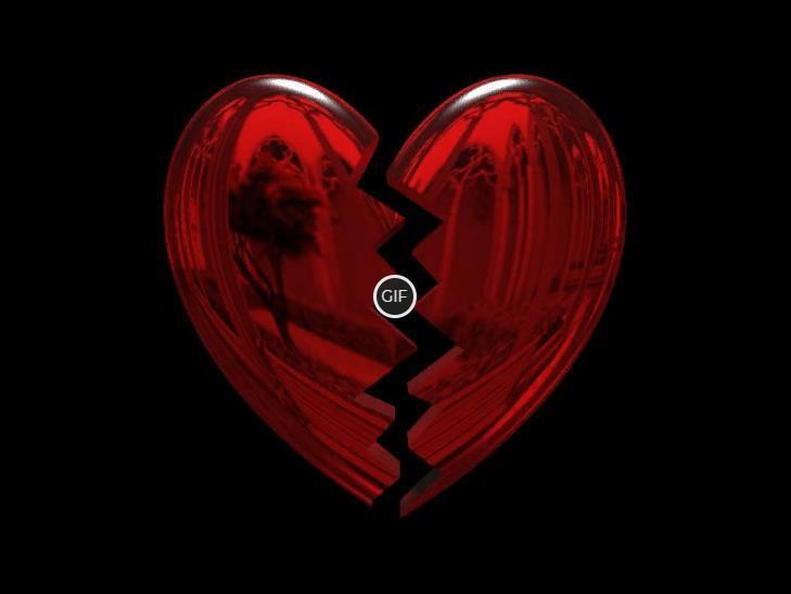 Гифка разбитое сердце на прозрачном фоне