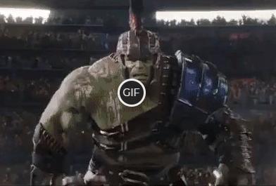 Гифки Халк против Тора битва на арене