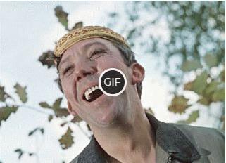 Гифка смех Никулина