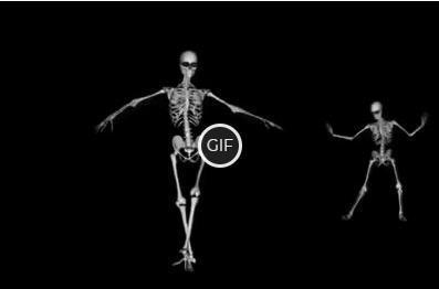 Гифка скелеты танцуют