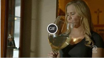 Гифка я всего один бокальчик вина