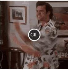 Гифка yes yes yes с Джимом Керри