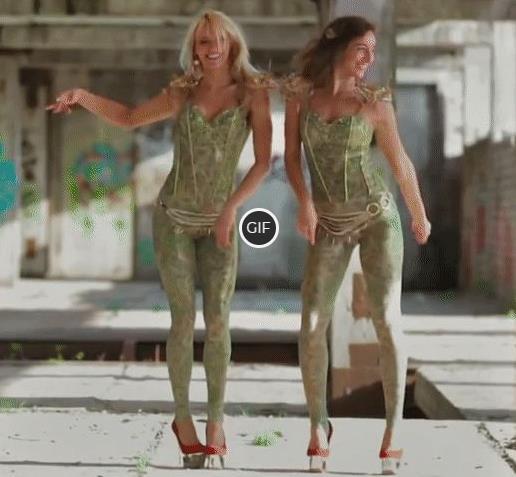 Гифка сексуальные девушки танцуют на каблуках