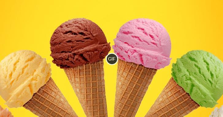 Гифки мороженое