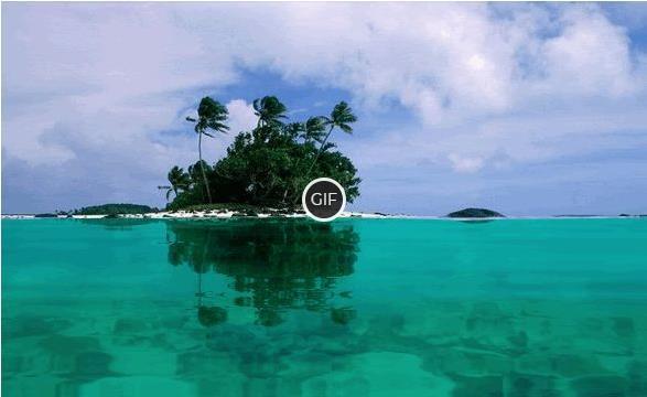 Гифка райские острова