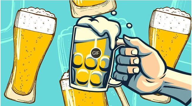 Картинки с пивом прикольные