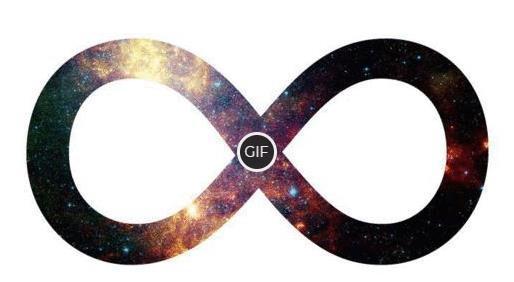 Гифка знак бесконечности