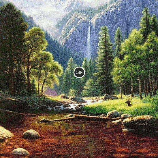 Красивые картинки природы пейзажи