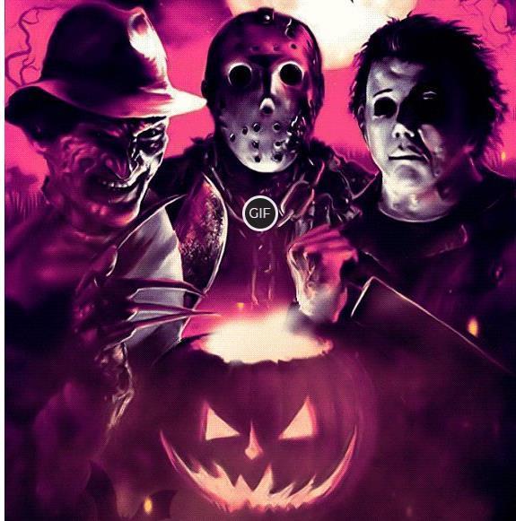 Анимационные открытки на хэллоуин 2020