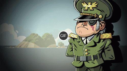 Анекдоты в гифках выпуск 11 : Анекдоты про армию