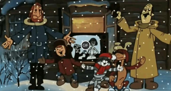Топ 10 новогодних мультфильмов
