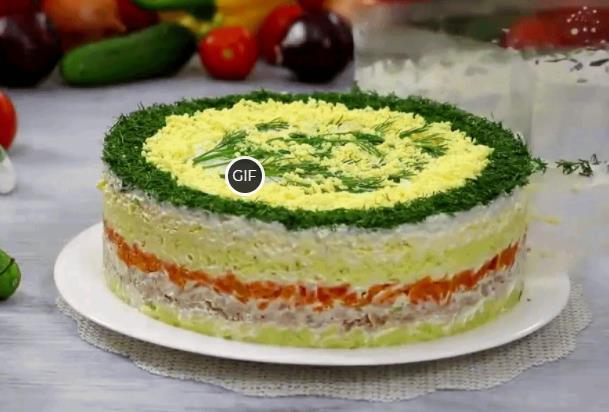 Топ 10 новогодних салатов 2021
