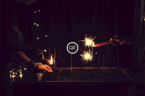 Гифки Фейерверк Бенгальские Огни