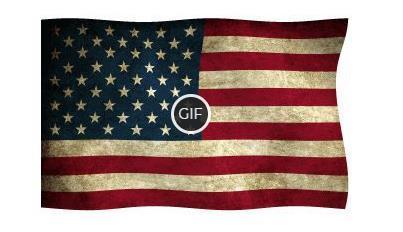 Гифки с флагом США