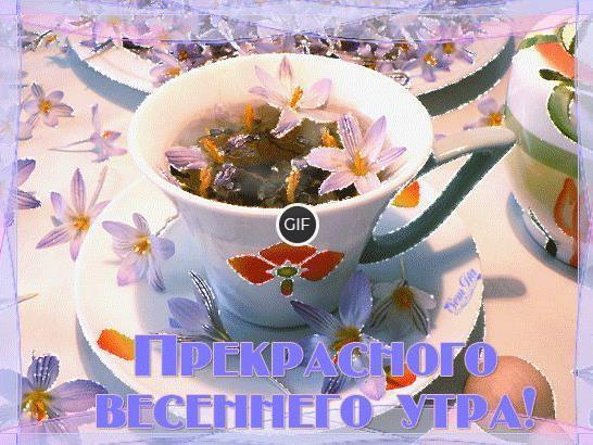 Пожелания доброго Апрельского утра