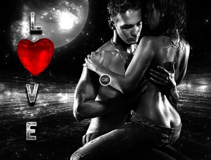 Гифки Романтика Любовь Страсть