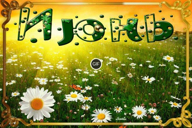 Пожелания доброго Июньского утра