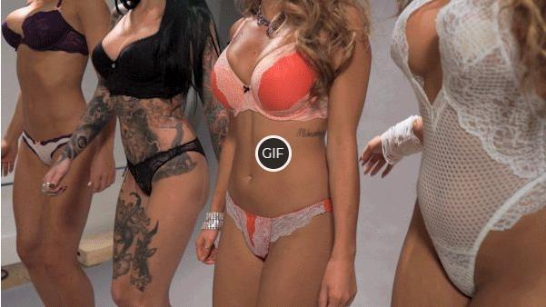 Гифки девушки в нижнем кружевном белье